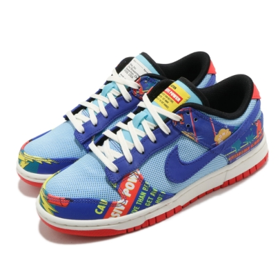 Nike 休閒鞋 Dunk Low 運動 女鞋 經典款 CNY 可撕式鞋面 質感 穿搭 藍 彩 DH4966446