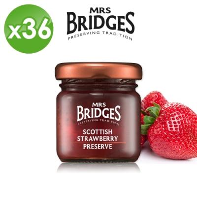 MRS. BRIDGES 英橋夫人蘇格蘭草莓果醬36入組 (42公克*36入)