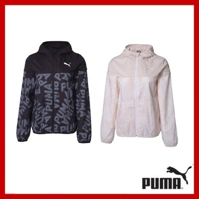【PUMA官方旗艦】 時時樂限定 基本系列印花風衣外套 女款兩款任選