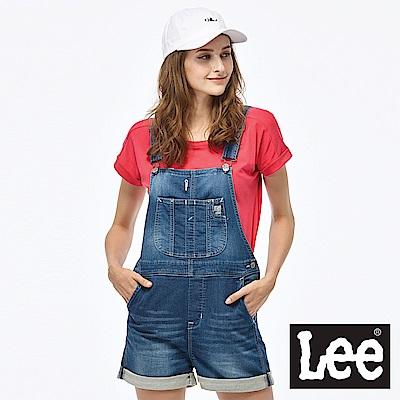 Lee 牛仔吊帶短褲/RG-女款