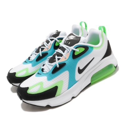 Nike 休閒鞋 Air Max 200 SE 運動 男鞋 氣墊 避震 復古鞋型 舒適 穿搭 白 綠 CJ0575101