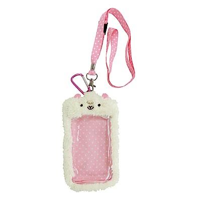 動物樂園毛絨手機背袋 小綿羊 UNIQUE