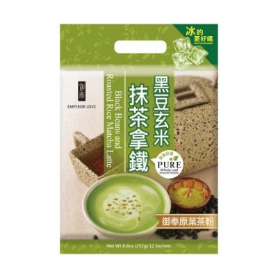 御奉 黑豆玄米抹茶拿鐵(21gx12包)