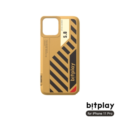 bitplay SNAP! iPhone 11 Pro (5.8吋)相機殼專用換色背蓋-重工硬派風