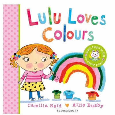 Lulu Loves Colours 可愛Lulu喜歡的顏色翻翻硬頁書