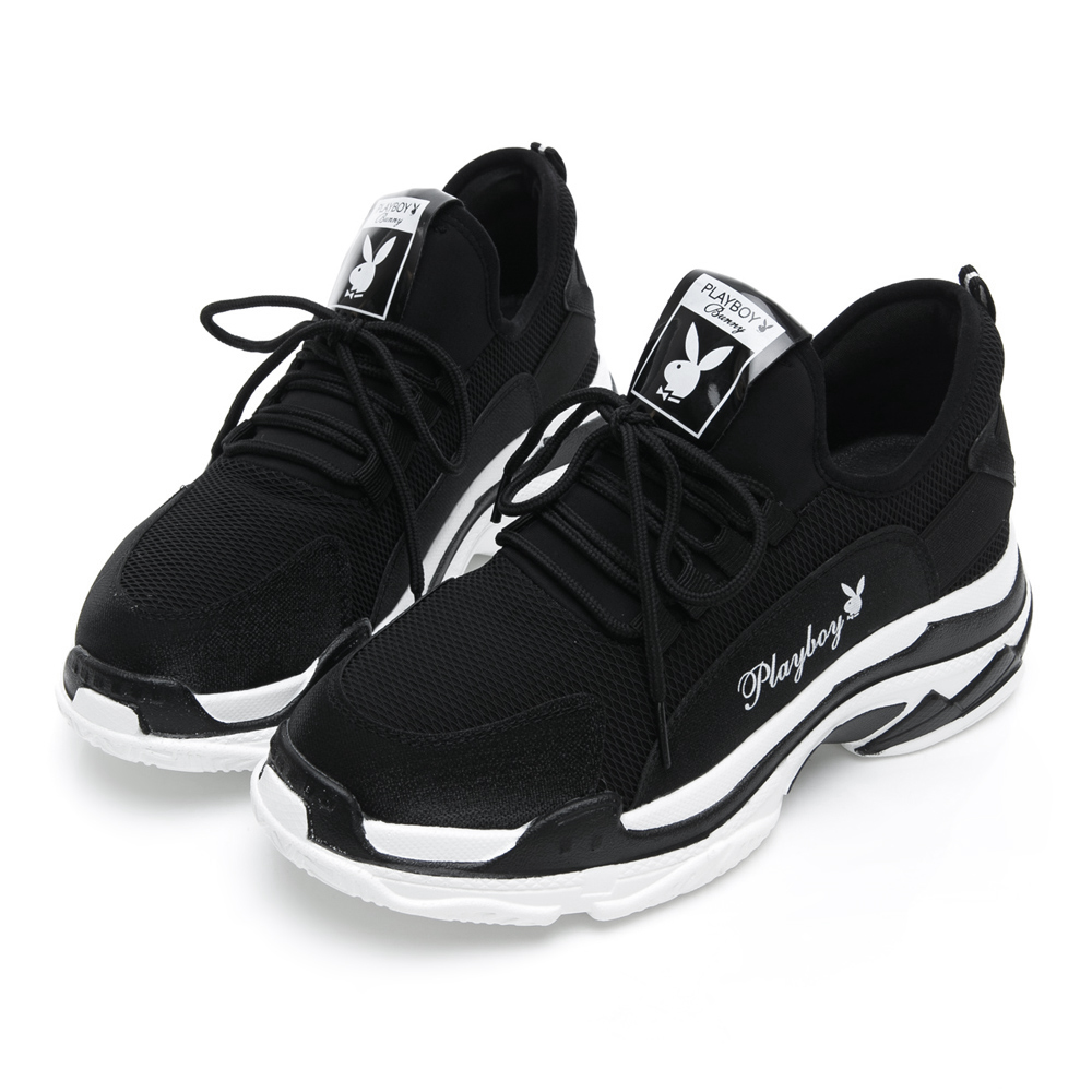 PLAYBOY Wave II兔兔老爹鞋 黑 Y5268CC