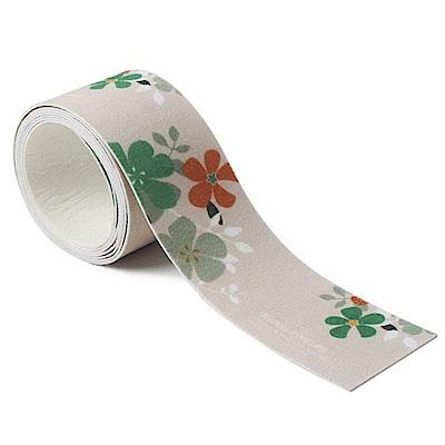 半島良品 韓式長款自黏吸水貼防霉貼8x140cm -日本花