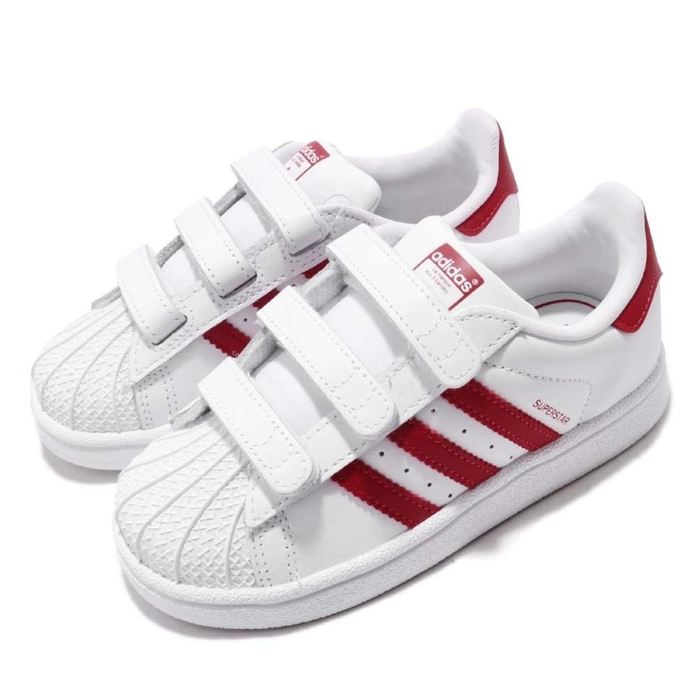 adidas 休閒鞋 Superstar CF I 童鞋 @ Y!購物