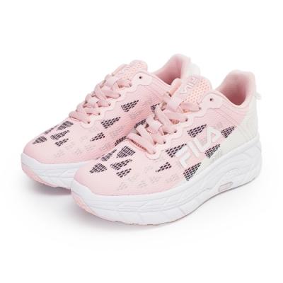 【FILA】CONTOUR LINE 慢跑鞋 女鞋-白/粉(5-J321V-511)