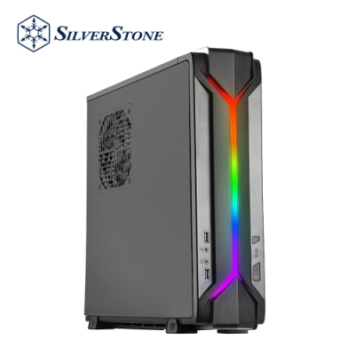 SilverStone銀欣 RVZ03B-ARGB RAVEN風格  薄型化機箱機殼