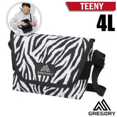 GREGORY TEENY 4L 超輕可調式側背包_斑馬紋