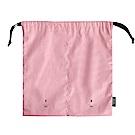 ICONIC 旅行分隔束口袋-衣物-粉紅