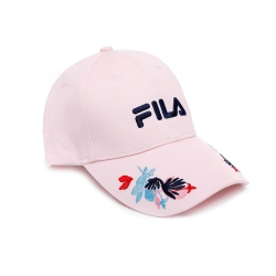 FILA 時尚LOGO帽-粉 HTU-5207-PK