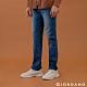 GIORDANO 男裝超彈力窄管牛仔褲 - 82 中藍 product thumbnail 1
