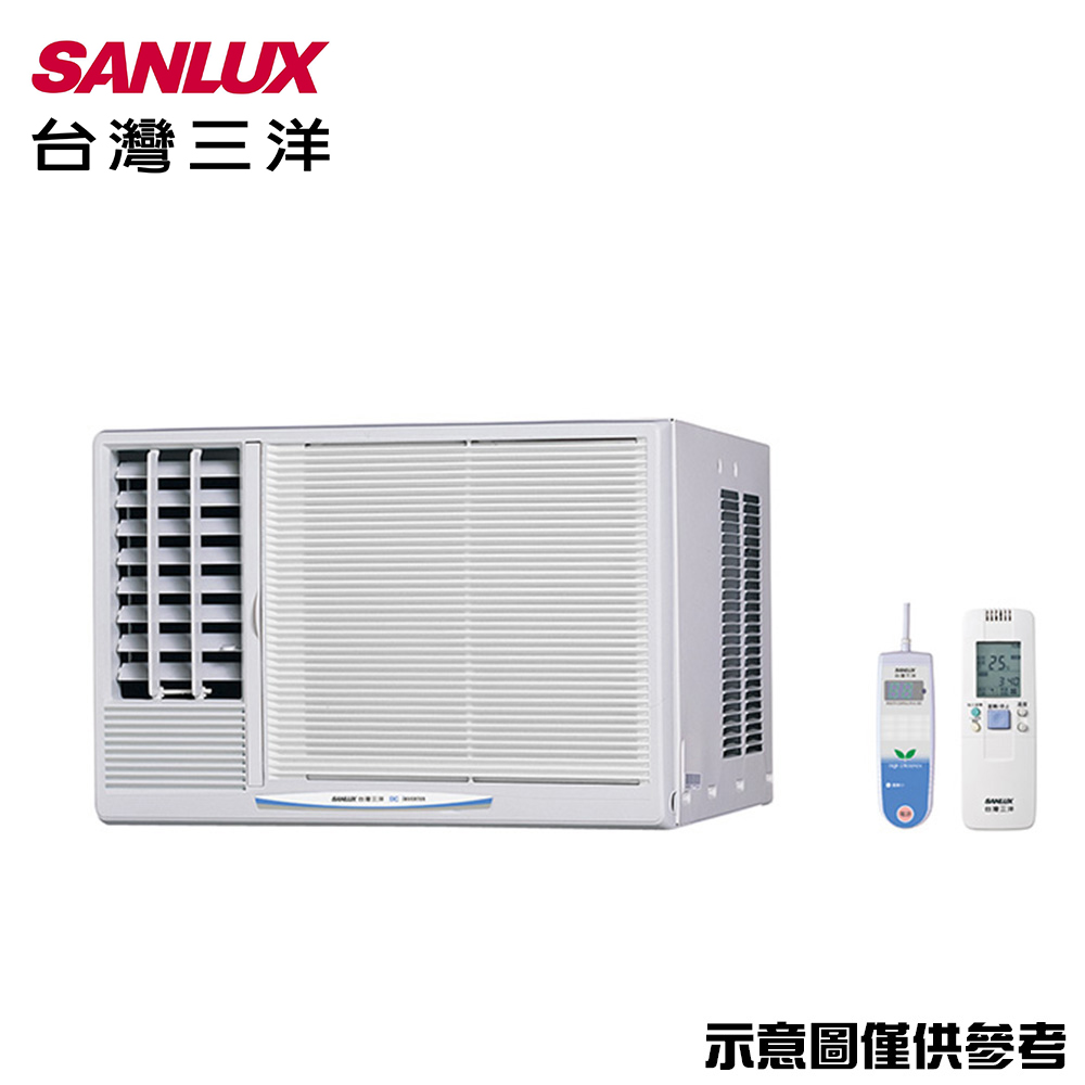 SANLUX三洋 6-8坪窗型左吹變頻冷氣SA-L41VE1