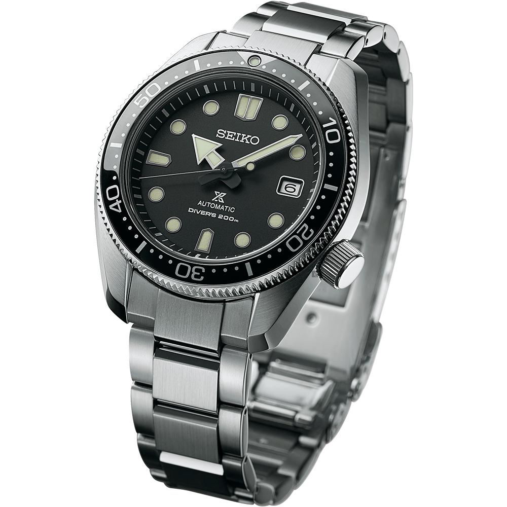 SEIKO 精工PROSPEX 200米潛水機械錶(SPB077J1)黑x銀/44mm