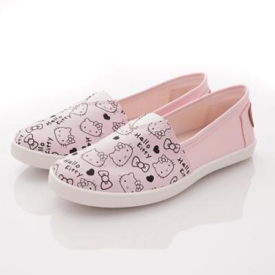 HelloKitty童鞋 印花帆布休閒鞋款 SE19874粉(中大童段)
