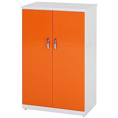 綠活居 阿爾斯環保2.2尺塑鋼二門鞋櫃(12色)-65x37x112cm免組