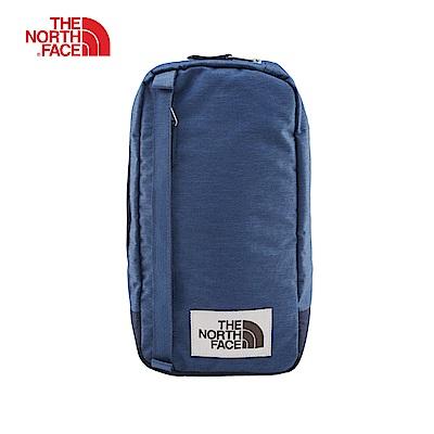 The North Face北面男女款藍色休閒單肩背包 3G8KBV7