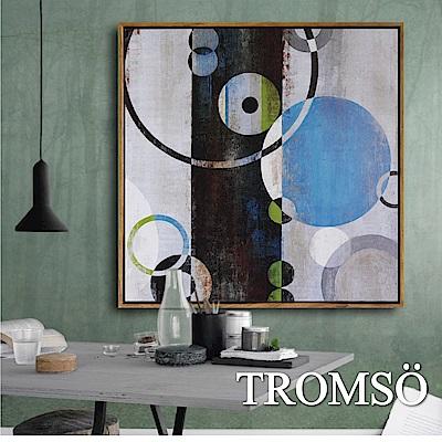 TROMSO北歐風尚板畫有框畫-光環性格60X60CM