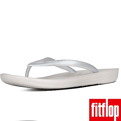 FitFlop IQUSHION夾腳涼鞋銀色