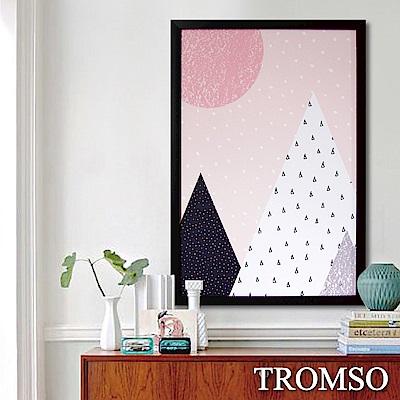 TROMSO格調北歐-棉布有框海報畫(大)-北歐山丘
