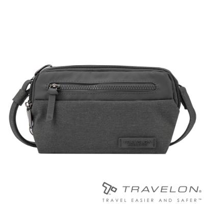 Travelon美國防盜包 METRO肩背/腰包兩用休閒旅遊包TL-43416灰