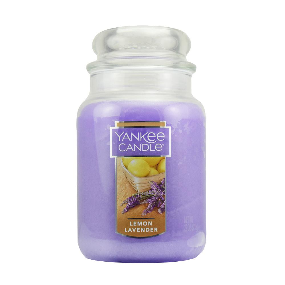 YANKEE CANDLE 香氛蠟燭-檸檬薰衣草623g