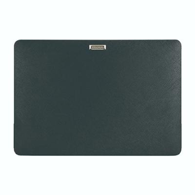 Proxa MacBook Air Retina 13吋 2018 防刮十字紋保護殼(經典黑)