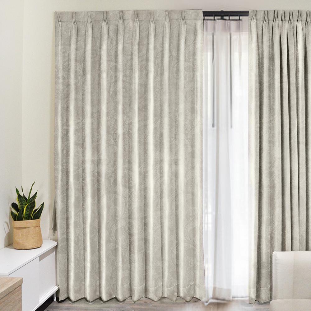 北歐精緻典雅柔紗系列窗簾100X150cm (2入) (兩款)