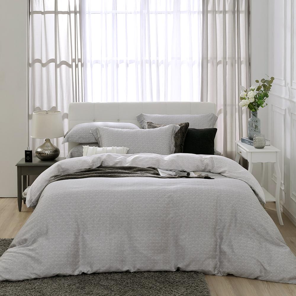 鴻宇 雙人特大床包兩用被套組 天絲300織 賽維爾 台灣製