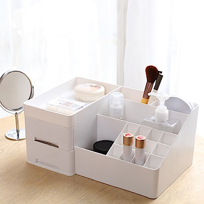 IDEA-實用多格化妝品小物收納盒
