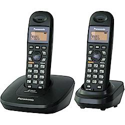 Panasonic國際牌 2.4GHz數位式無線電話 KX-TG3612-經典黑