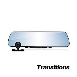 全視線 F3000+ 1080P 雙鏡頭後視鏡行車記錄器 星光版