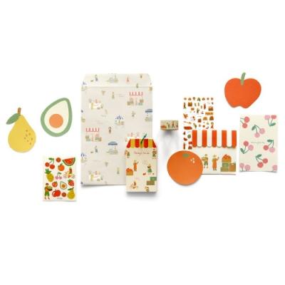 Dailylike 小市集創意文具組合包-01水果店