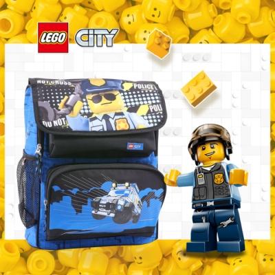 LEGO丹麥樂高書包Recruiter-警察 20069-2003