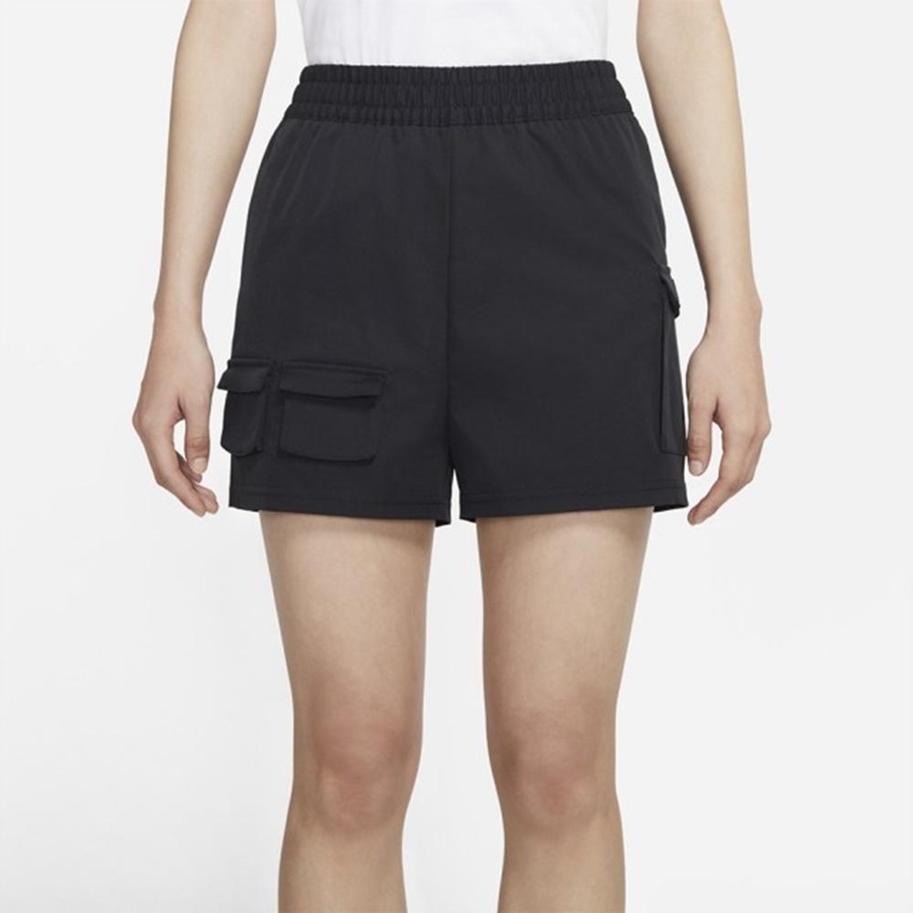 Nike NSW SWSH SHORT WVN HR 女運動短褲 黑-CZ9382010