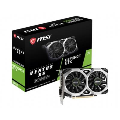 微星GeForce GTX 1650 VENTUS XS 4G OC 顯示卡