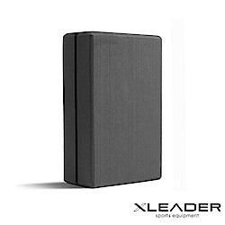 Leader X 環保EVA高密度防滑 加硬加重瑜珈磚 深灰
