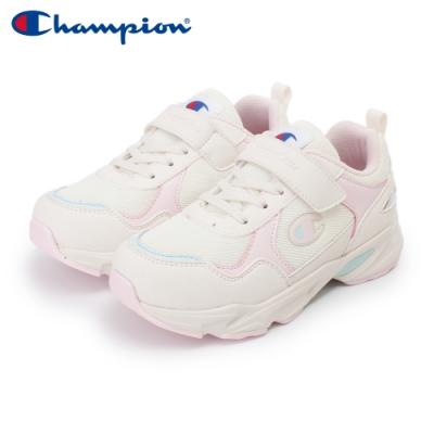【Champion】COLOR DARTS 運動鞋 中童-米/粉/粉藍(KFUS-0388-75)
