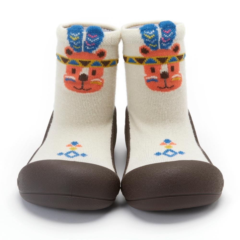 韓國Attipas 快樂學步鞋AINDIO01-印地安小熊