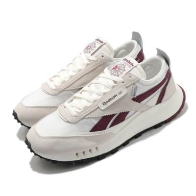 Reebok 休閒鞋 CL Legacy 運動 男女鞋 基本款 復古鞋型 簡約 情侶穿搭 淺卡其 紅 H04996