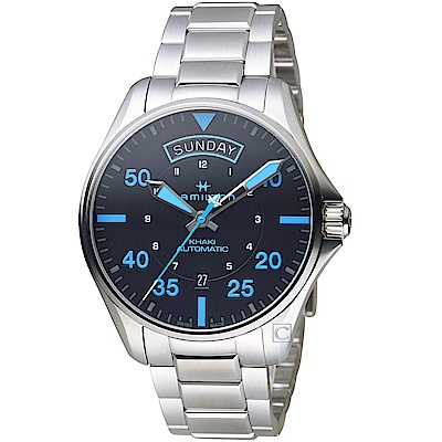 Hamilton漢米爾頓卡其航空系列Air Zermatt機械錶(H64625131)