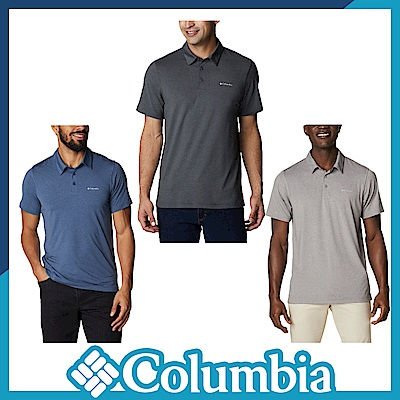 Columbia 哥倫比亞 男款- UPF50快排短袖Polo衫-活動款 UAE29330