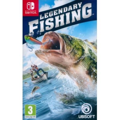 傳奇小釣手 傳奇釣魚 Legendary Fishing-NS Switch 中英日文歐版
