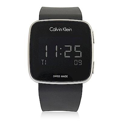 CalvinKlein 科技時尚數位電子腕錶-39mm