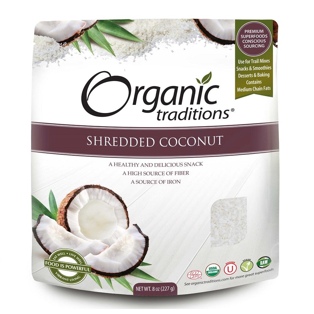Organic Traditions 有機椰絲227g