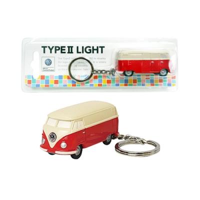 Dreams VW福斯授權LED小巴士鑰匙圈- 紅