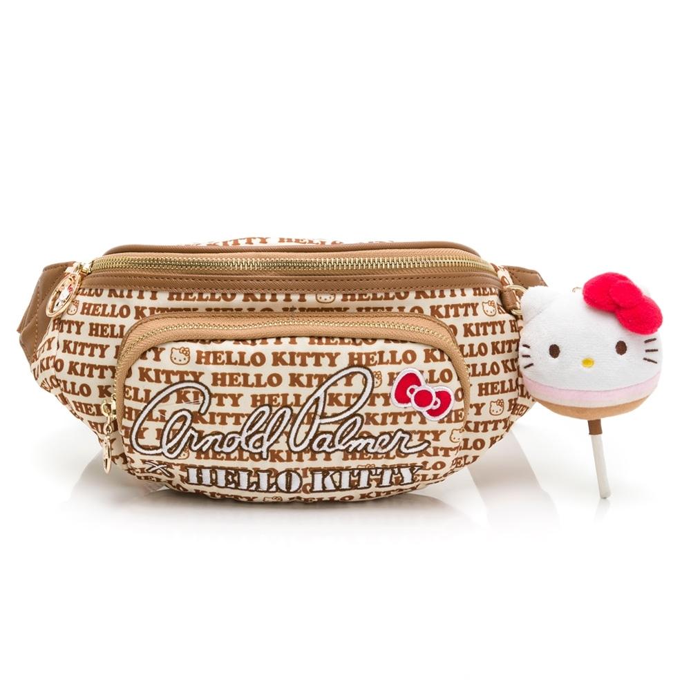 Kitty聯名- 腰包 LOLLIPOP GIRL棒棒糖女孩系列-卡其色