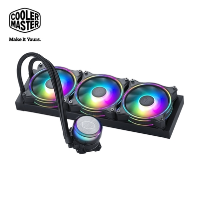 Cooler Master MasterLiquid ML360 illusion ARGB 水冷散熱器 黑色
